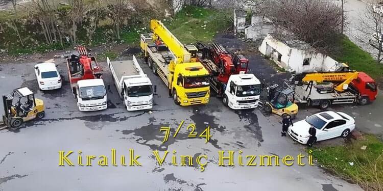 Beşiktaş Kiralık Vinç