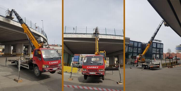 Mobil Vinç Kiralama İstanbul